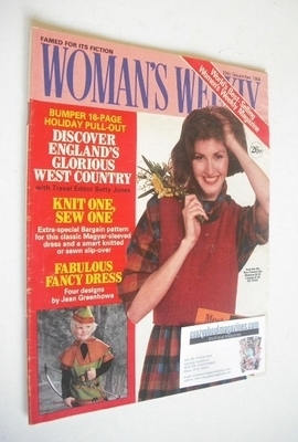 <!--1984-12-29-->British Woman's Weekly magazine (29 December 1984 - Britis