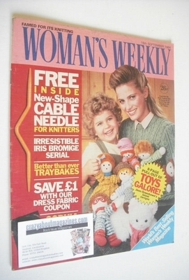 <!--1984-09-15-->British Woman's Weekly magazine (15 September 1984 - Briti