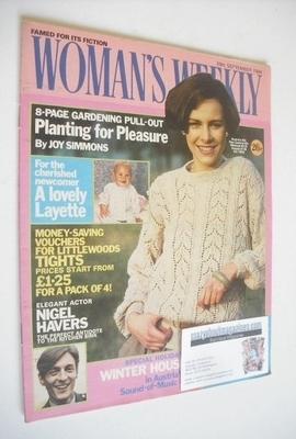 <!--1984-09-29-->British Woman's Weekly magazine (29 September 1984 - Briti