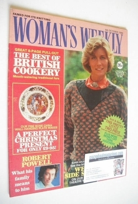 <!--1984-10-06-->British Woman's Weekly magazine (6 October 1984 - British