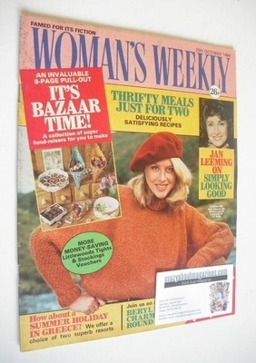 <!--1984-10-20-->British Woman's Weekly magazine (20 October 1984 - British