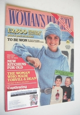 <!--1984-11-03-->British Woman's Weekly magazine (3 November 1984 - British