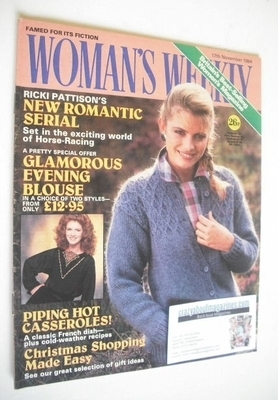 <!--1984-11-17-->British Woman's Weekly magazine (17 November 1984 - Britis