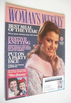 <!--1984-12-15-->British Woman's Weekly magazine (15 December 1984 - Britis