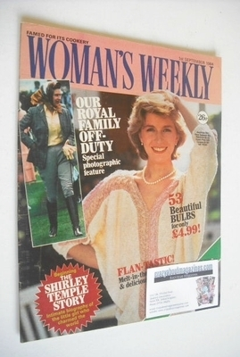 <!--1984-09-01-->British Woman's Weekly magazine (1 September 1984 - Britis