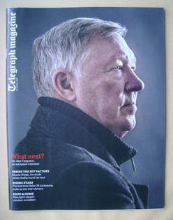 <!--2013-10-19-->Telegraph magazine - Sir Alex Ferguson cover (19 October 2