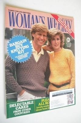<!--1984-08-25-->British Woman's Weekly magazine (25 August 1984 - British