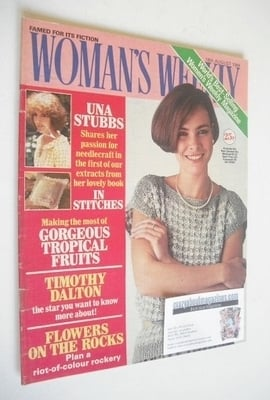 <!--1984-08-18-->British Woman's Weekly magazine (18 August 1984 - British