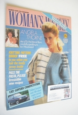 <!--1984-08-11-->British Woman's Weekly magazine (11 August 1984 - British