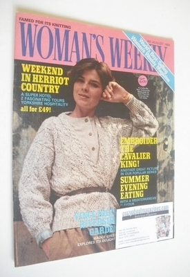 <!--1984-08-04-->British Woman's Weekly magazine (4 August 1984 - British E