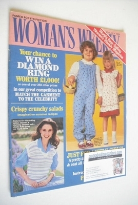 <!--1984-07-21-->British Woman's Weekly magazine (21 July 1984 - British Ed