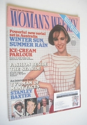 <!--1984-07-14-->British Woman's Weekly magazine (14 July 1984 - British Ed