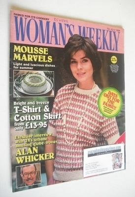 <!--1984-07-07-->British Woman's Weekly magazine (7 July 1984 - British Edi
