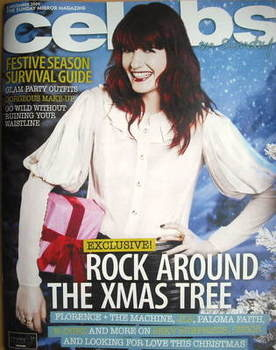 <!--2009-12-06-->Celebs magazine - Florence Welch cover (6 December 2009)