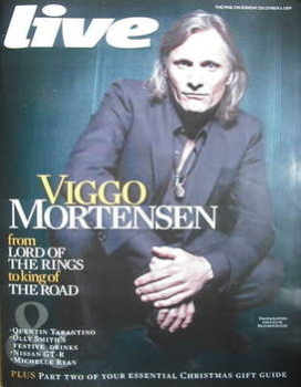 Live magazine - Viggo Mortensen cover (6 December 2009)
