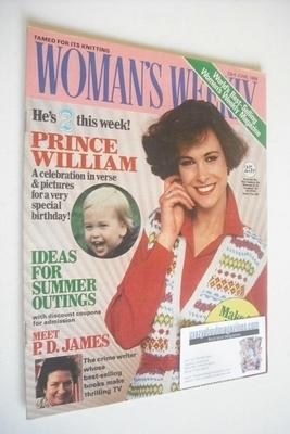 <!--1984-06-23-->British Woman's Weekly magazine (23 June 1984 - British Ed