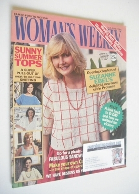 <!--1984-06-02-->British Woman's Weekly magazine (2 June 1984 - British Edi