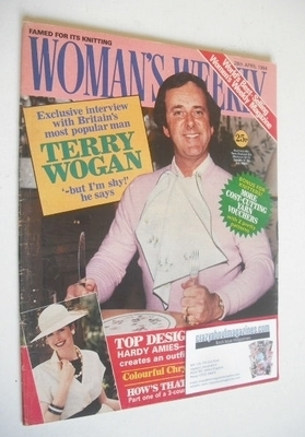 <!--1984-04-28-->British Woman's Weekly magazine (28 April 1984 - Terry Wog