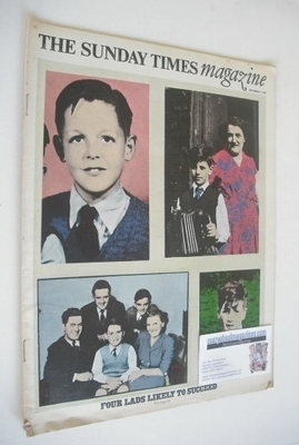 <!--1968-09-01-->The Sunday Times magazine - Four Lads Likely To Succeed co