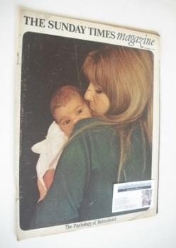 The Sunday Times magazine - The Psychology of Motherhood cover (15 September 1968)