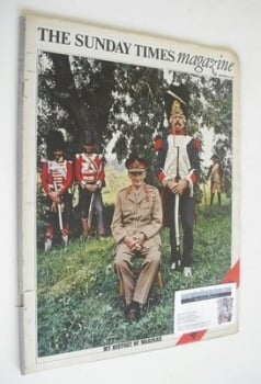 The Sunday Times magazine - My History Of Warfare cover (22 September 1968)
