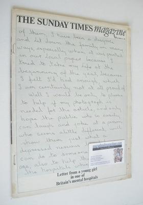 <!--1968-09-29-->The Sunday Times magazine - Letter cover (29 September 196