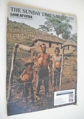 <!--1968-12-01-->The Sunday Times magazine - Look At Cuba cover (1 December