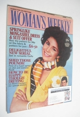 <!--1984-04-07-->British Woman's Weekly magazine (7 April 1984 - British Ed