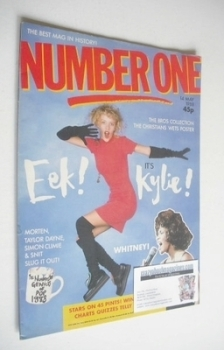 NUMBER ONE Magazine - Kylie Minogue cover (14 May 1988)