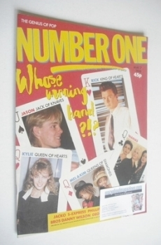 NUMBER ONE Magazine - 7 May 1988