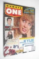 <!--1988-02-20-->NUMBER ONE Magazine - Kylie Minogue cover (20 February 1988)