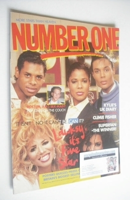 <!--1988-04-23-->NUMBER ONE Magazine - Five Star cover (23 April 1988)