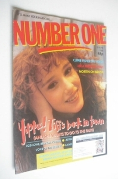 NUMBER ONE Magazine - Tiffany cover (10 June 1988)