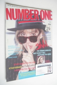 NUMBER ONE Magazine - Debbie Gibson cover (4 June 1988)