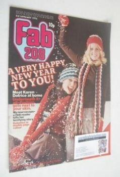 Fabulous 208 magazine (3 January 1976)