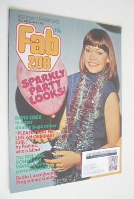 <!--1975-12-13-->Fabulous 208 magazine (13 December 1975)