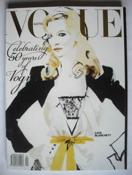 Australian Vogue magazine - Autumn 2009 - Cate Blanchett cover