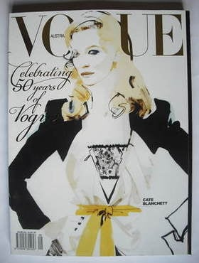 <!--2009-09-->Australian Vogue magazine - Autumn 2009 - Cate Blanchett cove