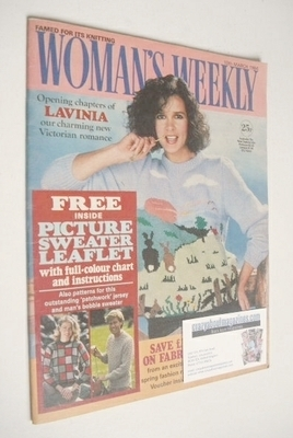<!--1984-03-10-->Woman's Weekly magazine (10 March 1984 - British Edition)