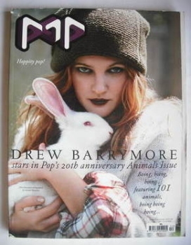 POP magazine - Drew Barrymore cover (November 2008 - Winter issue)