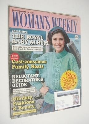 <!--1984-02-25-->Woman's Weekly magazine (25 February 1984 - British Editio