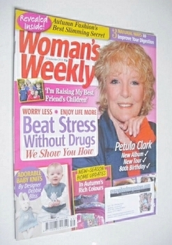<!--2013-09-24-->Woman's Weekly magazine (24 September 2013 - Petula Clark