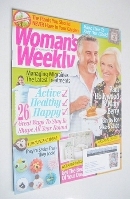 <!--2013-09-03-->Woman's Weekly magazine (3 September 2013 - Paul Hollywood