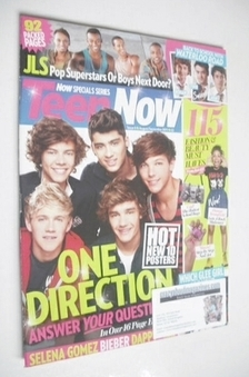 <!--2011-08-->Teen Now magazine - One Direction cover (August/September 201