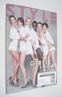 <!--2013-08-11-->Style magazine - The Girlie Show cover (11 August 2013)