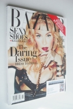 Harper's Bazaar magazine - November 2013 - Madonna cover