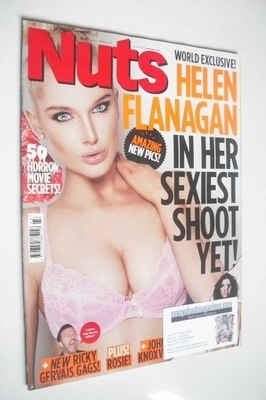 <!--2013-10-25-->Nuts magazine - Helen Flanagan cover (25-31 October 2013)