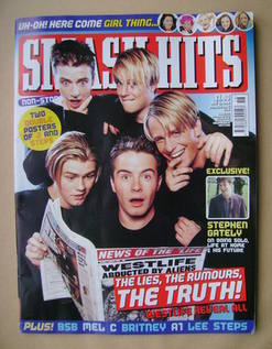 <!--2000-05-03-->Smash Hits magazine - Westlife cover (3 May 2000)