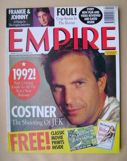 <!--1992-02-->Empire magazine - Kevin Costner cover (February 1992 - Issue