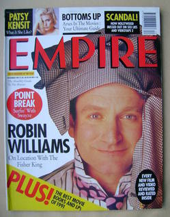 <!--1991-12-->Empire magazine - Robin Williams cover (December 1991 - Issue